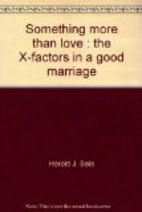 Something more than love: The X-factors in a…