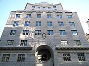 Author photo. Reuters Building, Fleet Street, London.  Photo by Steve Cadman / Flickr.