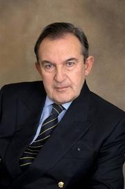 Author photo. Maurice Lever en janvier 2001
