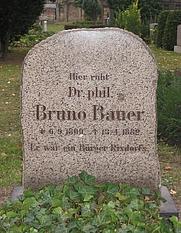 Author photo. Grave, Neuer Kirchhof der <br> St. Jacobi-Gemeinde, Berlin, Germany <br> (Credit: Lienhard Schulz, 2005)