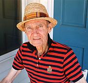 Author photo. Prof. Horton Marlais Davies. Photo by Philip Davies, 2003 (photo courtesy of Princeton Univesity)