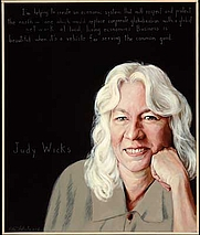 Author photo. Portrait by Robert Shetterly, <a href=&quot;http://www.americanswhotellthetruth.org&quot;>americansWhoTellTheTruth.org</a>