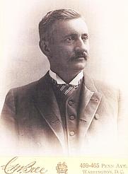 Author photo. Lucien McShan Turner, 1889
