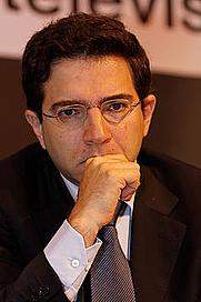 Author photo. Alexandre Najjar lors du salon du livre de Paris en mars 2012.