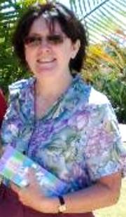 Author photo. Sandra Harris