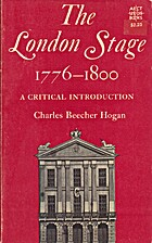 The London Stage: 1776 - 1800: A Critical…