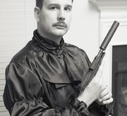 Author photo. Michael Z. Williamson (2006)<br>Photo: Oleg Volk