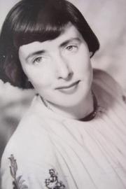 Author photo. Vivienne Rae Ellis on July 23 1951