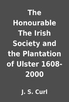 The Honourable The Irish Society and the…