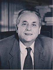 Author photo. Michel Despax (1929-1997), Doyen de la Faculté de Droit de Toulouse