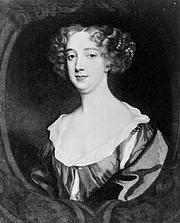 Author photo. Portrait by Sir Peter Lely (1618-1680): Library of Congress Prints and Photographs Division (REPRODUCTION NUMBER:  LC-USZ62-127791) (cropped)