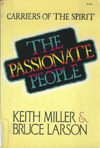 The Passionate People: Carriers of the…