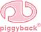 Author photo. Piggyback Logo