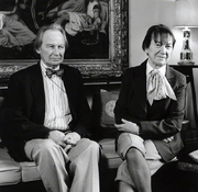 Author photo. Graham Reynolds with Daphne Reynolds (née Dent)in 1990