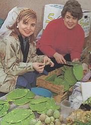Author photo. Maricel E. Presilla (l) and Gloria Soto (r)