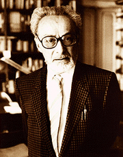 Author photo. From <A HREF=&quot;http://it.wikipedia.org/wiki/Primo_Levi&quot;>Wikipedia</A>