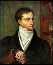 Author photo. Portrait by A. Lagrenée, 1826