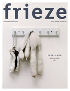 Frieze : Art schools then and now special…