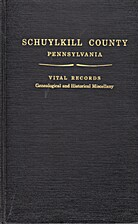 Schuylkill County Pennsylvania, Vital…