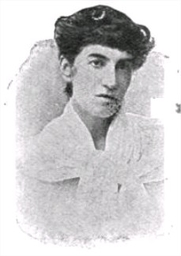 Author photo. Book Seven of the McBride Literature and Art Readers (1904), p. 82.