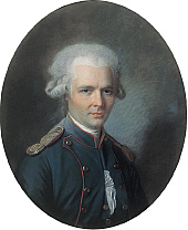 Author photo. Pierre Choderlos de Laclos Painting attibuted to Alexander Kucharski (1741-1819). Amiens, Musée de l'hôtel de Berny (Public domain ; Wikipedia)