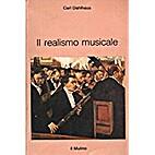 Il realismo musicale: per una storia della…