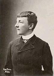 Author photo. ca. 1895, publiée 1908 par Chocolats Félix Potin