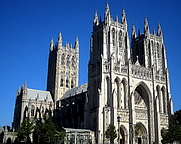 Author photo. Washington National Cathedral.  Photo by user AgnosticPreachersKid / Wikimedia Commons