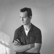 "Author photo. <A HREF=""http://commons.wikimedia.org/wiki/Image:Kerouac_by_Palumbo.jpg"">Tom Palumbo</A>"