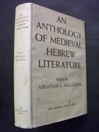 An Anthology of Medieval Hebrew Literature…