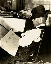 Author photo. c. 1916. Photographer unknown.