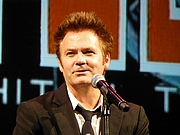 Author photo. Comedian Paul McDermott at the DAAS Kapital DVD launch, Melbourne International Comedy Festival, 13 April 2013 / Photo by Canley