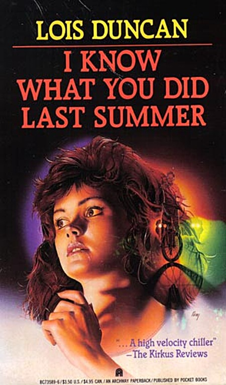 a review of the book i know what you did last summer by lois duncan Lois duncan's book, i know what you did last summer, spawned the movie of the same title, and its sequal, i still know what you did last summer.