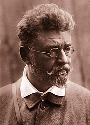 Author photo. Ludwig Ganghofer (1899). Wikimedia Commons.