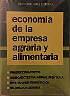 Economia de La Empresa Agraria y Alimentaria…