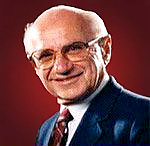 "Author photo. Milton Friedman, Nobel Prize in economics and libertarian activist by <a href=""http://www.freetochoosemedia.org/"" rel=""nofollow"" target=""_top"">http://www.freetochoosemedia.org/</a>"