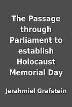 The Passage through Parliament to establish…