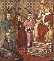 Author photo. Pope Honorius III By Giotto