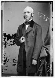 Author photo. James Strong (1822-1894) Photograph dated circa 1855-1865. (Brady-Handy Photograph Collection, Library of Congress)