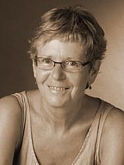 Author photo. Michèle Sandrin