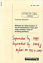 AS 1276 - 1979: Methods for Determination of…