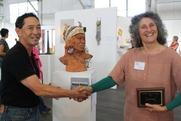 Author photo. Suzanne Baizerman (on right)