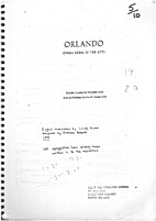 Orlando : [vocal score] by Georg Frideric…