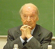Author photo. Valentín García Yebra. Photo by Mavit (Wikimedia).