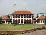 Author photo. National Archives of Indonesia building, 2007 [credit: M Bacon]