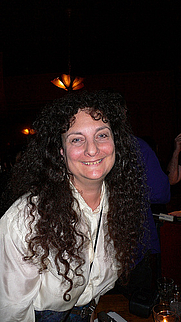 Author photo. KGB readings, NYC 2006, photo by Cory Doctorow