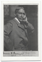 Author photo. Photographer: Gertrude Käsebier  From the <a href=&quot;http://photography.si.edu/SearchImage.aspx?id=5157&quot;>Smithsonian Institution, Archives of American Art</a>, Macbeth Gallery records.