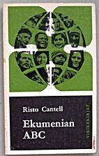 Ekumenian ABC by Risto Cantell