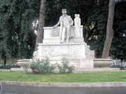 """Author photo. Monument to Belli, Rome. Photo by Flickr user <a href=""""http://www.flickr.com/photos/mac9/"""">mac_xill</a>."""