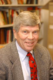 Author photo. Prof. James M. McPherson (photo courtesy of Princeton University)